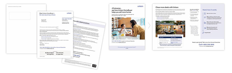 Unison direct mail sequence